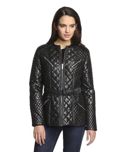 Via Spiga Women's Quilted Zip-Up Jacket