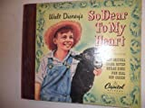 Walt Disney's So Dear to My Heart 1949 classic childrens (set of 4) 78 rpm records (HARDCOVER)