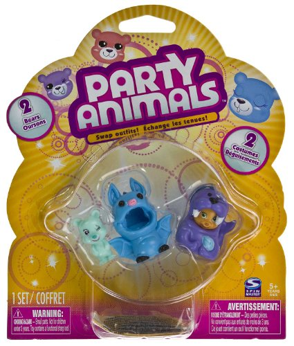 Party Animals 2 Mini Bears Pack -