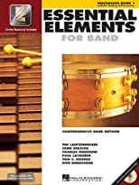 Essential Elements 2000, Book 1 Plus DVD: Percussion (Percussion Book 1)