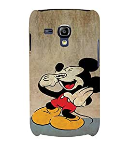 Ebby Premium Printed Mobile Back Case Cover With Full protection For Samsung Galaxy S3 Mini/Samsung Galaxy S3 Mini i8190 (Designer Case)