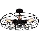Design House 154005 Drake 4 Light Ceiling Fan 52 Inch