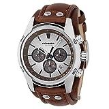 Fossil watch strap CH-2565 22mm Brown (original watch band)
