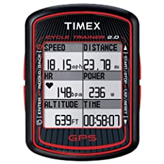 Buy Timex ~ Cycle Trainer 2.0 ~ T 5K615 F7 ~ GPS Bike Computer with HRM ~ Bodylink System by Timex