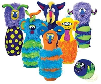 Melissa & Doug Monster Plush Bowling Game by Melissa & Doug