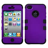 Product B008EOPYR8 - Product title MYBAT IPHONE4AVHPCTUFFSO012NP Premium TUFF Case for iPhone 4 - 1 Pack - Retail Packaging - Grape/Black