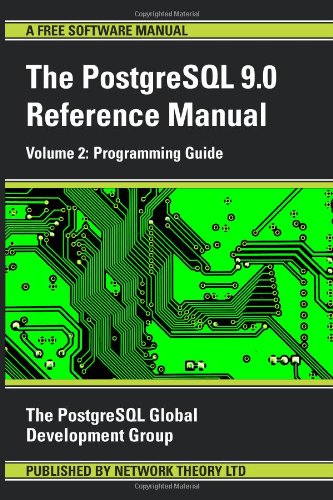 PostgreSQL Reference Manual - Volume 2: Programming Guide