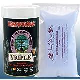 Home Brew - Brewferm Triple - Premium Belgian Beer Ingredient Kit Including 500g VinClasse? Brewing Sugar