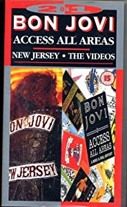 2 on 1 Bon Jovi - Access All Areas. New Jersey. The Videos [VHS]