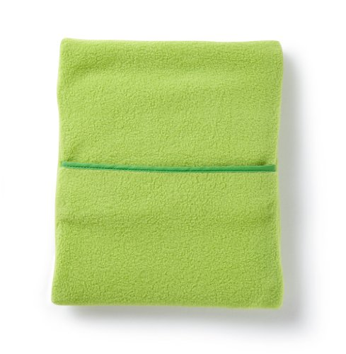 Micro Hotties Microwavable Hot Water Bottle - Lime Green Fleece