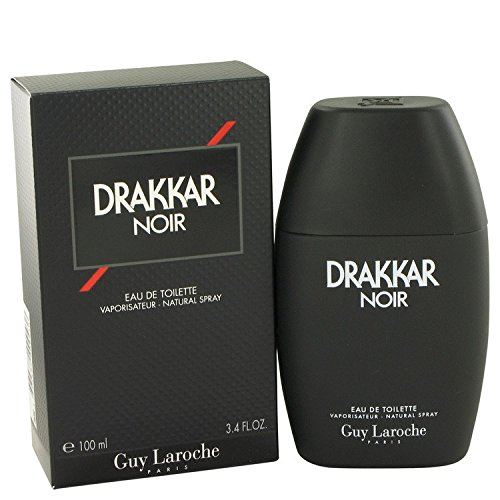 NEW - DRAKKAR NOIR by Guy Laroche Eau De Toilette Spray 3.4 oz for Men- 412389