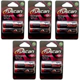 Tuscan 5 Packs Of 10 Pieces 800mah AA 1.2V, Rechargeable Ni-Mh Batteries 800 MAh AA Size