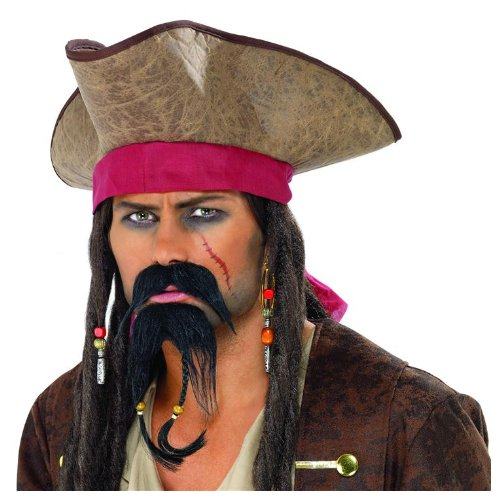 Adult's Fancy Dress Pirate Beard
