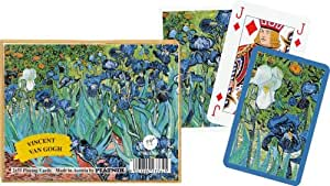 Irises Double Playing Card Decks