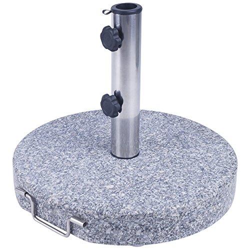 sonnenschirmst nder granit 45 cm rund 30 kg schirmst nder. Black Bedroom Furniture Sets. Home Design Ideas