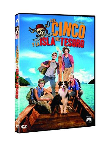 Los Cinco Y La Isla Del Tesoro [DVD]