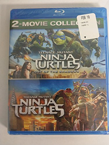 Blu-ray : Teenage Mutant Ninja Turtles 2-movie Collection (2 Discos)