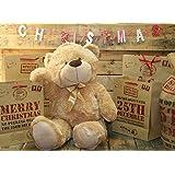 Extra Large 80Cm Super Cuddly Plush Giant Sitting Teddy Bear Soft Toy - Cookieby Teddy Bears