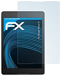 2 x atFoliX Google Nexus 9 Screen protection Protective film - FX-Clear crystal clear