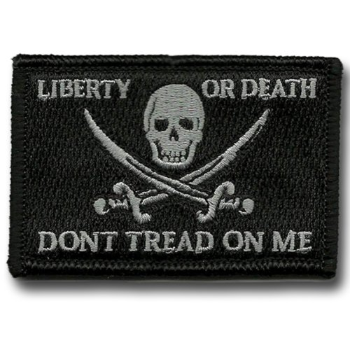 Fantastic Deal! Calico Jack Tactical Patch - Black