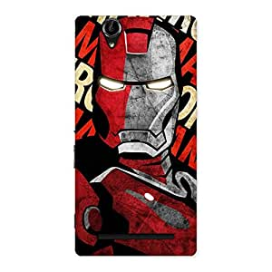 Introduction Man Back Case Cover for Sony Xperia T2