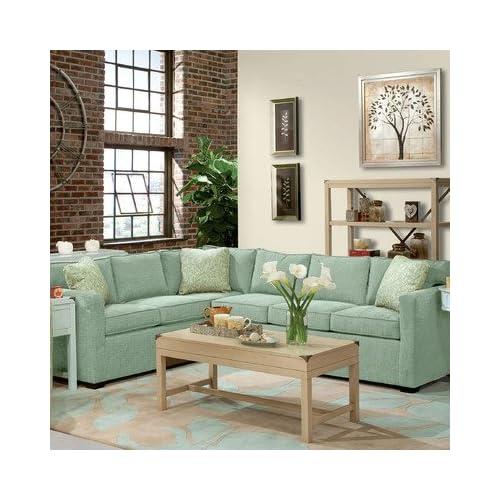 Amazon.com - Lenny Two Piece Sectional Sofa 1 in Seafoam -