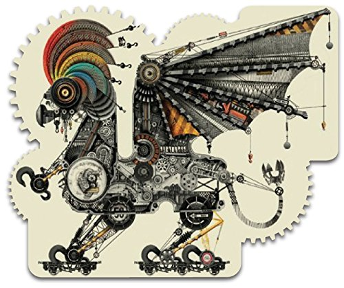 Artifact Puzzles - Diego Mazzeo Mechanical Griffin Wooden Jigsaw Puzzle
