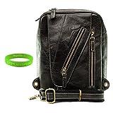 Genuine Messenger Bag for Asus Eee Pad Transformer + Vangoddy Live Laugh Love Wristband