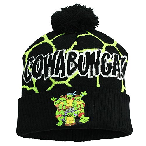 Teenage Mutant Ninja Turtle Cowabunga Beanie Winter Hat Size 4-16 (Guantes De Football compare prices)