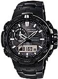 [カシオ]CASIO 腕時計 PROTREK BLACK TITAN LIMITED 世界6局電波対応ソーラーウォッチ PRW-6000YT-1JF メンズ