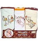 Animaux Sauvages - Set de serviettes de bain avec capuche - 3 pièces - Fille ou garçon - Frenchie Mini Couture