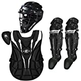 Easton Mystique Girls Youth Softball Catcher's Gear Package by Easton