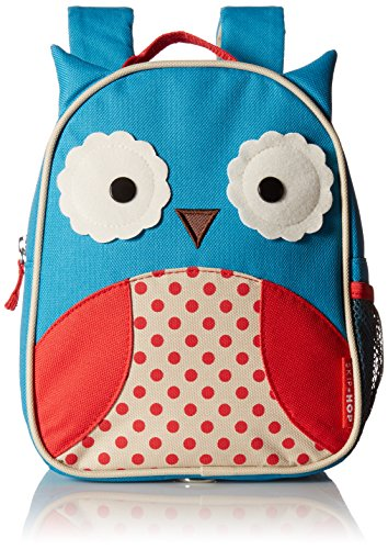 Skip Hop Zoo Little Kid & Toddler Safety Harness Backpack (Ages 2+), Multi, Otis Owl (Skip Hop Harness compare prices)