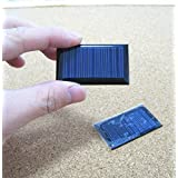 5V 30mA 53X30mm Micro Mini Power Solar Cells For Solar Panels - DIY Projects - Toys - 3.6v Battery Charger