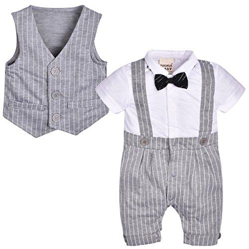ZOEREA appena nato del bambino che babys dei vestiti dei bambini dei capretti giacca corta signore cotone manica Carino pagliaccetto tuta della maglia di Bowknot Cravatta Abbigliamento