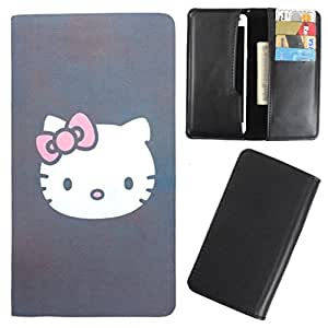 DooDa - For Samsung Galaxy J1 Ace PU Leather Designer Fashionable Fancy Case Cover Pouch With Card & Cash Slots & Smooth Inner Velvet