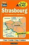 Plan de ville : Strasbourg, agglom�ra...