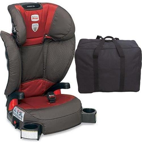 Britax Parkway Sgl - Booster Seat With A Car Seat Travel Bag Tango