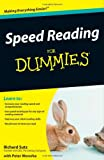 img - for Speed Reading For Dummies book / textbook / text book