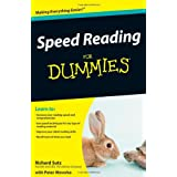 Speed Reading For Dummiesby Richard Sutz