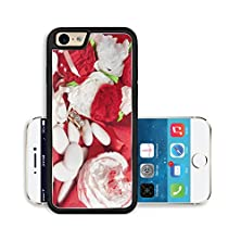 buy Liili Premium Apple Iphone 6 Iphone 6S Aluminum Snap Case Wedding Rings On A Colorful Fabric Image Id 30673133