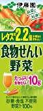 伊藤園 食物せんい野菜 (紙パック) 200ml×24本 ランキングお取り寄せ