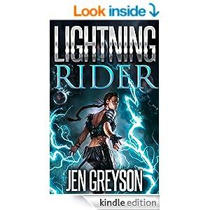 Lightning Rider (NA Fantasy/Time Travel Book 1)