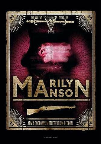 MARILYN MANSON Bandiera/Bandiera/poster Bandiera THE HIGH END OF THE LOW
