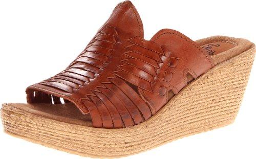 Sbicca Women'S Juniper Wedge Sandal,Tan,7 B Us front-415487