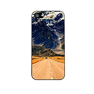 Vibhar printed case back cover for Apple iPhone 5 LongRoad