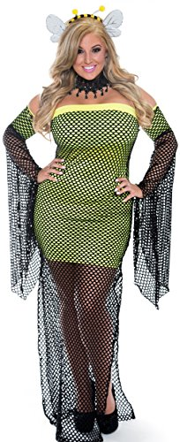 Delicate Illusions Plus size womens Sexy Stinger Bee Costume