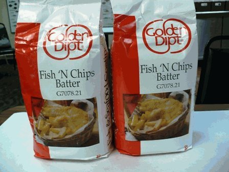 Fish N Chip Batter Mix, 5 LB !