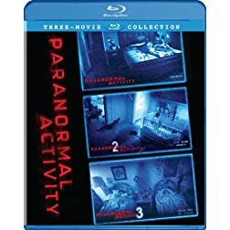 Paranormal Activity Trilogy Gift Set [Blu-ray]