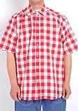 (コンバース)CONVERSE 大きサイズ 2L 3L 4L 5L シャツ/メンズ 麻混 チェック シャツ + 半袖 Tシャツ